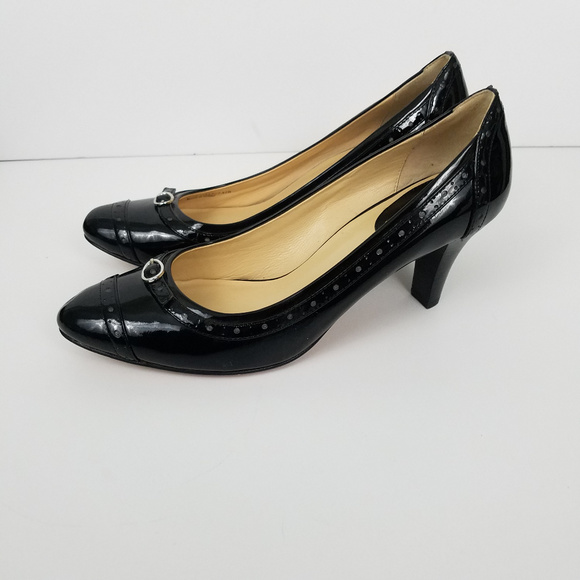Black Patent Leather Heels | Poshmark
